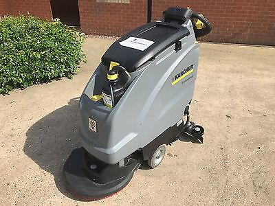Karcher B40 W Bp with Dose D51 disc brush head floor scrubber drier 207hrs usage