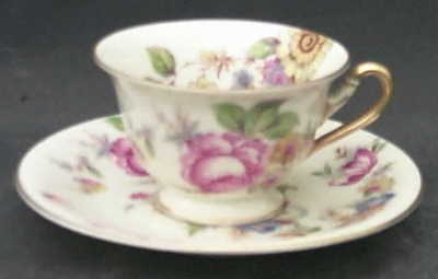 Rosenthal Continental THE SUNRAY Demitasse Cup & Saucer 3400722