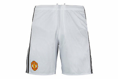 adidas Mens Manchester United 17/18 Players Authentic Home Football Shorts