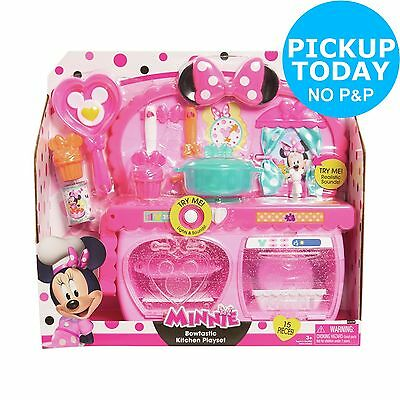 Disney Minnie Mouse Bow-Tique Bowtastic Kitchen Playset From Argos on ebay