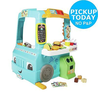 Fisher-Price Laugh & Learn Servin' Up Fun Food Truck. The Official Argos Store