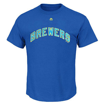 Milwaukee Brewers Officially licenced MLB Cooperstown T shirt