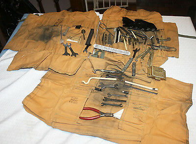 Vintage Western Electric Tool Set for Servicing Pay Telephones Lineman's Tools