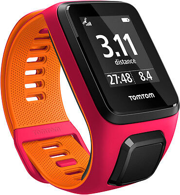TomTom Runner 3 GPS Watch Small Strap - Pink