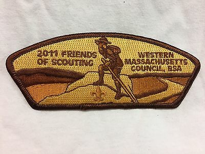 Boy Scouts- 2011 Friends of Scouting - Western Massachusetts Council csp