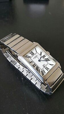 Mans Rotary stainless steel bracelet watch