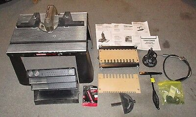 (MA1) Craftsman 925560 Made USA Router Table & Accessory Bundle