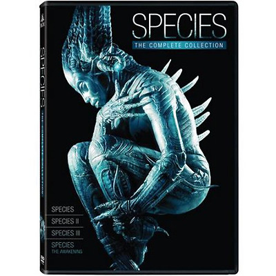 Species: Complete Sci-Fi Horror Movie Series 1 2 3 4 Box/DVD Set Collection NEW!