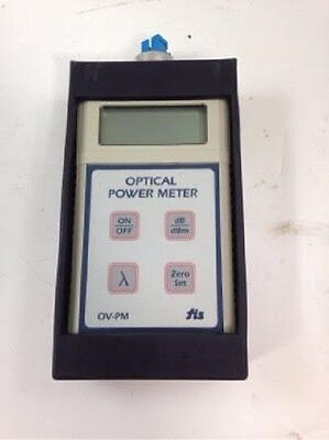 FIS Handheld Fiber Optic Power Meter  OV-PM   F18513HHCATV -- Laser Optics