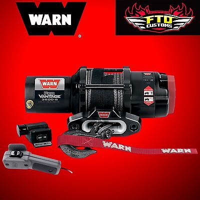 Warn Winches Provantage 3500 Pound Winch w/ Synthetic Rope 90351