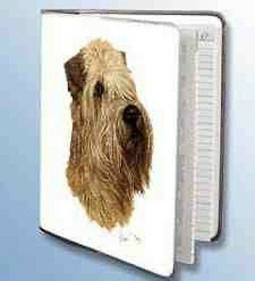 Retired WHEATEN TERRIER Softcover Address Book artwork by Robert May