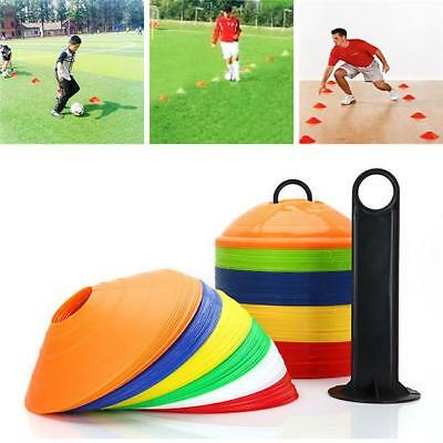 Football Sports Training Equipment Cones Ground Saucers Marker Saucer Carrier LA
