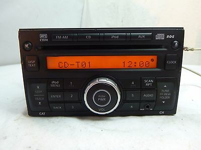 2011 2012 11 12 Nissan Cube Radio Cd Mp3 Player 28185-1FS0A CY01H PS4981