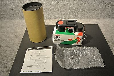 NIP Vintage KELLOGG'S CORN FLAKES Micro 110 Camera, Keychain, Instructions & Box
