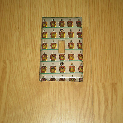 CLASSIC CROWN ROYAL Whiskey Bottles LIGHT SWITCH COVER PLATE #1