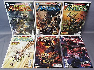 ODYSSEY OF THE AMAZONS #1 2 3 4 5 6 (Full Run) Unread DC Comic 2017 Wonder Woman