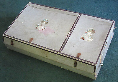Unique Steamer Or Carriage Trunk Shelf