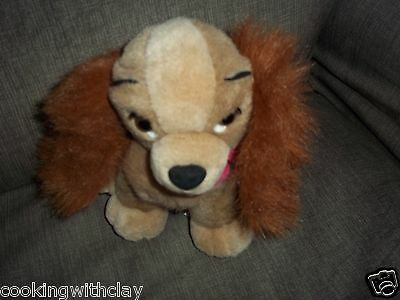 Plush Doll Figure Disney Movie Classic Lady And The Tramp Character Dog Toy