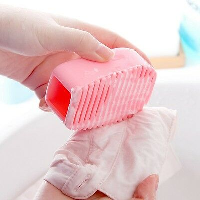 Soft Hand-held Brush Silicone Laundry Cleaning Brush Clothes Washboard