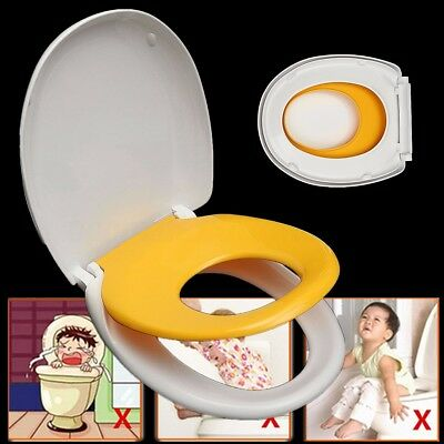 2in1 Kids Child Adult Family Toilet Seat Cover Chair Ring Training Potty Trainer