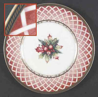 Fitz & Floyd WINTER HOLIDAY Salad Plate 5530566