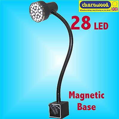 Charnwood ML28 Magnetic 28 LED Flexible Worklight for Lathe Pillar Drill Bandsaw