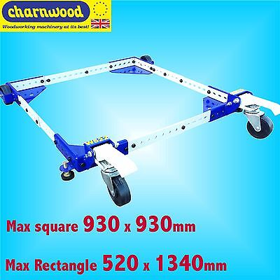 Charnwood W522 Universal Wheel Base Stand for Bandsaw Table Saw Planer Lathe etc