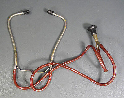 Wwii German Army Field Doctors Physician Medical Bell Binaural Stethoscope Tool
