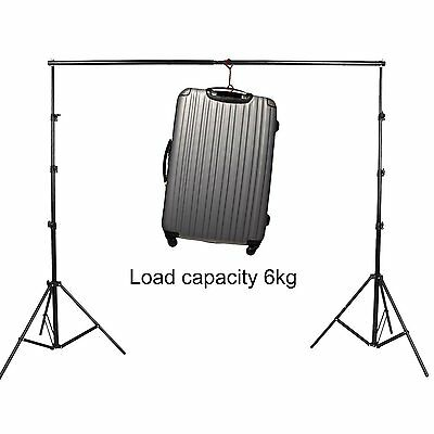 3m x 2.8m Photography Studio Background Backdrop Stand Photo Lighting Set