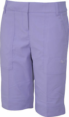 Puma Tech Ladies Golf Shorts - Purple