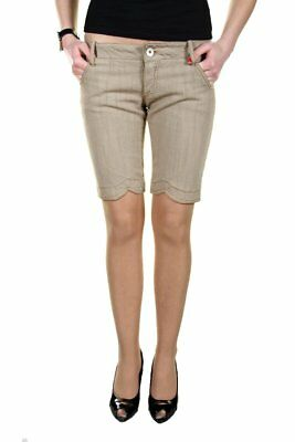 Kings Jeans BO-L670006_04 Shorts donna - colore Beige IT