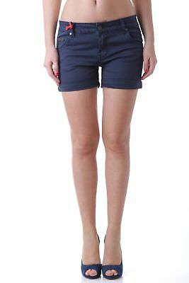 525 VI-H527 Shorts donna - colore Blu Scuro IT