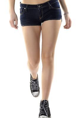 525 VI-H690 Shorts donna - colore Blu Scuro IT