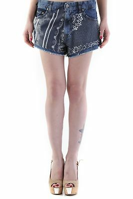 525 VI-H652 Shorts donna - colore Blu IT