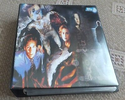 The X Files Trading Cards 3 sets and Binder