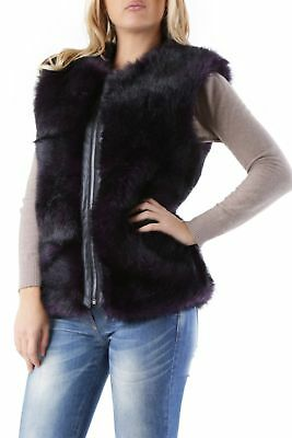 525 VI-DD0058 Gilet donna - colore Viola IT