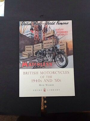 British Motorcycles Of The 1940's &. 1950's