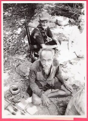 1968 Vietnamese Village Self Defense Force Militia Original News Photo