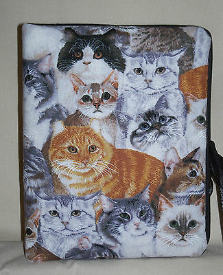 "Cats or Kittens Many types Handcrafted Handmade Photo Album Holds 80 4""X6"" NEW"