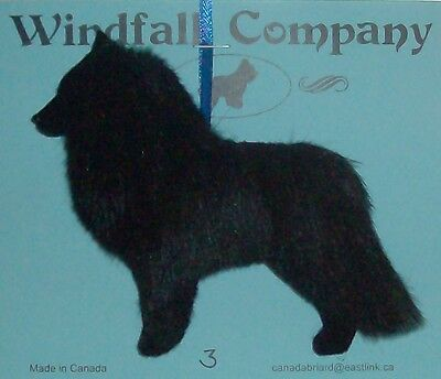 Belgian Sheepdog Dog Plush Christmas Canine Ornament # 3 by WC