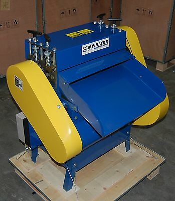 BLUEROCK ® Model 945-VS Variable Speed Wire Stripping Machine Copper Stripper