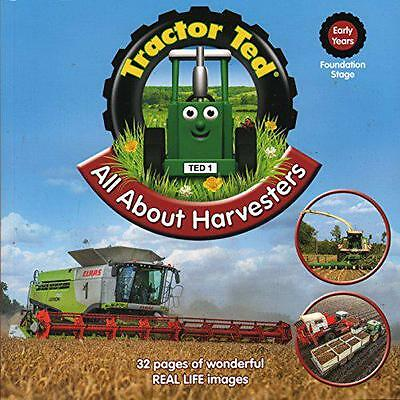 Tractor Ted All About Harvesters by Tractor Land | Paperback Book | 978099329336