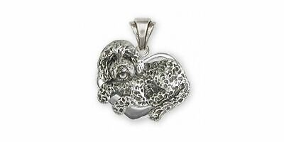 Labradoodle Pendant Jewelry Sterling Silver Handmade Dog Pendant LDD3-TP