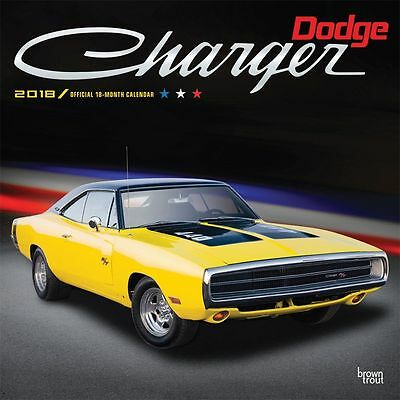 2018 Dodge Charger Wall Calendar,  Muscle Cars | Hot Rods by BrownTrout