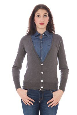 Fred Perry BO-31342021 Damen Strickjacke - farbe Grau CH