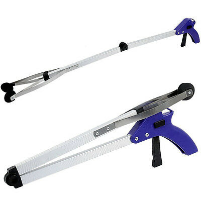 Foldable Pick Up Tool Hand Grabber Reaching Stick Litter Picker Disibility Aid