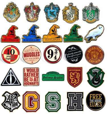 Official Harry Potter Enamel Pin Badge Badges Sorting Hat Houses Gryffindor