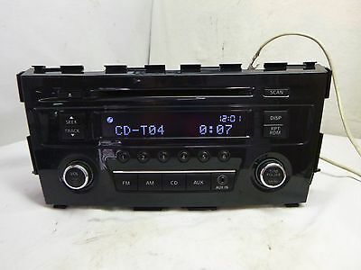 13 14 Nissan Altima Radio Single Disc Cd Player 28185-3TA0A JF209