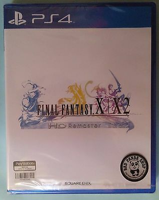 Final Fantasy X/X-2 Remaster HD Playstation 4 Chinese Subtitled PS4 太空戰士 X & X2