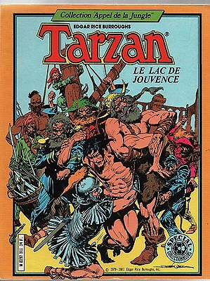 TARZAN. Le Lac de jouvence.  SAGEDITION 1981.  Collection Appel de la Jungle